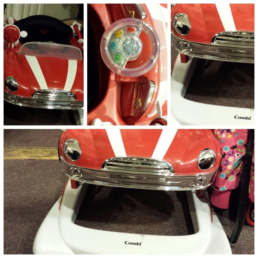 Classic Car Bouncy Chair